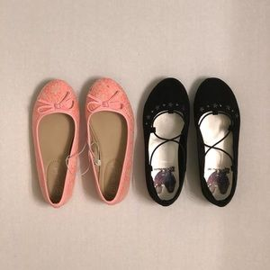 Other - 2 pair of flat little girls shoes